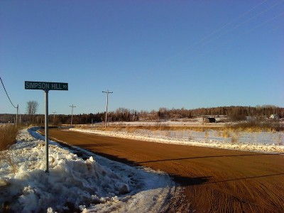 Winter roads around Christian Valley.  (Credit:  Lonny Erickson at Panoramio)