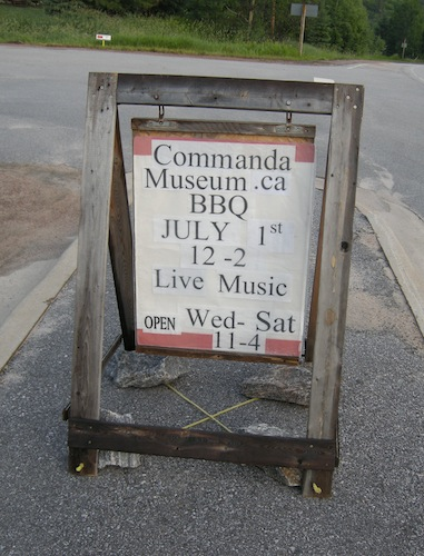 Given that we'd have to kill another six-plus hours if we wanted to partake, we didn't stay for the Commanda BBQ.  As evidenced by my experience in Port Sydney, I'm not always a joiner.