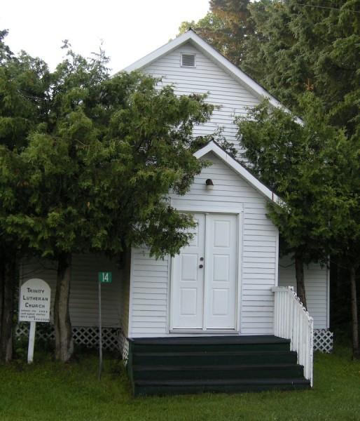 Commanda, Ontario Lutherna Church, highway11.ca, highway 11, yonge street