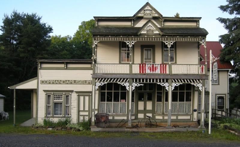 Commanda, Ontario, Commanda General Store, museum, highway 11, highway 524