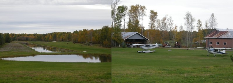 Ok this is really cool - a purpose-built floatplane airport, in Nipissing Village, Ontario - just off Highway 11.