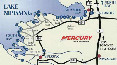 highway11.ca, Wade's Landing, Ontario, lodges, camps
