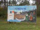 Hornepayne, Ontario mural highway11.ca