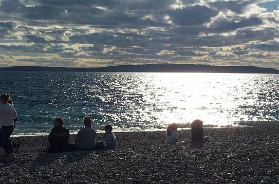 Schreiber ontairo beach lake superior