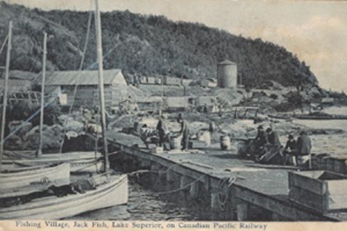 Jackfish, Ontario in 1906. Highway 17 highway11.ca