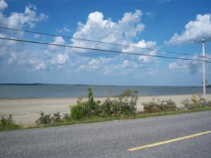 Barbers Bay beach ontario Highway11.ca
