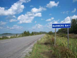Barbers Bay, Ontario highway11.ca