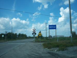 Hoyle, near Timmins Ontario highway11.ca