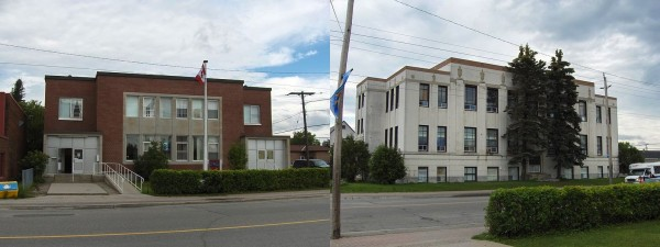 Canada Post and Municipal Buildings in South Porcupine, Ontario.  I wish I had taken more photo whilst I was there!