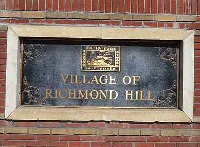 Richmond Hill on Yonge Street / Highway 11