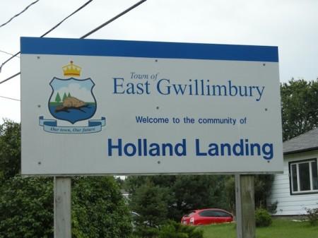 Holland Landing, East Gwillimbury Ontario, Yonge Street