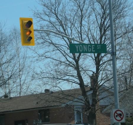 Yonge Street, Holland Landing Ontario