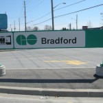 Bradford, Ontario GO train station, highway 11 yonge street