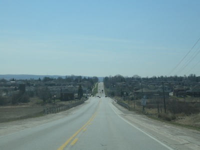 Bradford, Ontario, Yonge Street, Highway 11