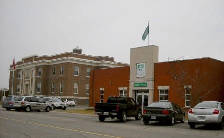 Cochrane, Ontario municipal building highway 11