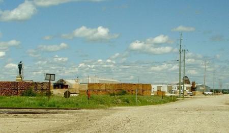 Calstock Mill, constance lake, ontario highway 11 highway11.ca