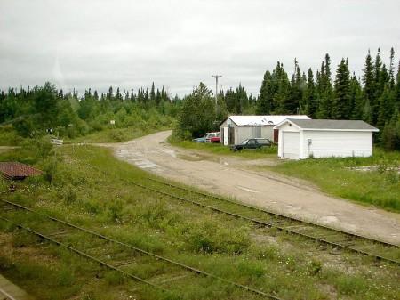 Fraserdale siding, ontario highway11.ca