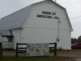 Porquis Junction agricultural hall