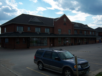 Cochrane, Ontario train station leads to James Bay