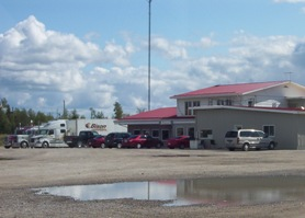 Truckstop in Driftwood, Ontario on Highway 11