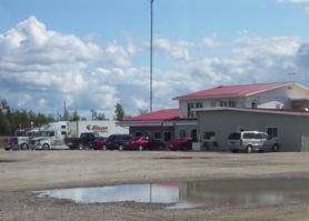 Truckstop in Driftwood, Ontario on Highway 11