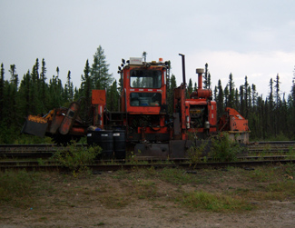 Rail equipment in Fraserdale