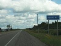 Gregoire Mills, Ontario, on Highway 11