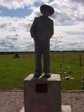 Kapuskasing POW camp memorial, Highway 11 Ontario