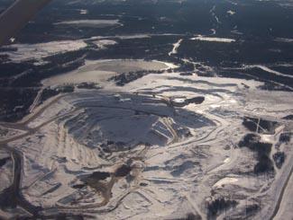 Agrium Mine, Kapuskasing