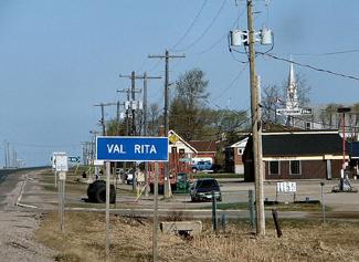 Val Rita, Ontario, Highway 11