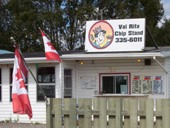 Val Rita chip stand, Highway 11, Ontario