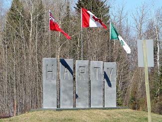 Harty, Ontario, Highway 11