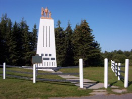 Reesor Siding monument, Highway 11