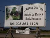 Val Coté, Ontario's Rock Museum, Highway 11