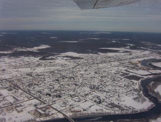 Hearst, Ontario on Highway 11