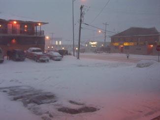 Snowstorm, Hearst, Highway 11