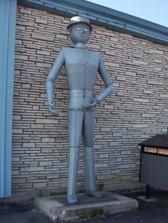 Hearst tin man, Highway 11