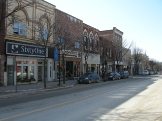 Downtown Orillia, Highway 11