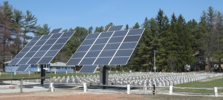 This is cooler in person - a solar-heated seedling-starting operation in Kahshe Lake, on Highway 11