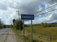 Emsdale, Ontario, Highway 11
