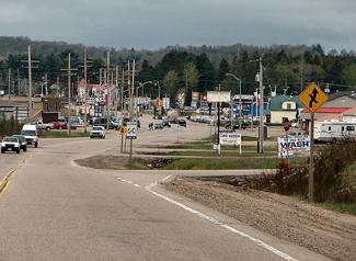 Highway 11 near Sundridge, Ontario
