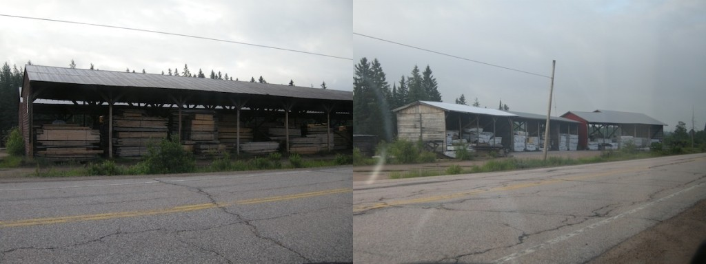 Trout Creek, Ontario, HIghway 11, lumber, mill, yonge street, powassan