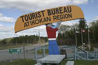 I can barely portage let alone do it whilst smoking a pipe, Atikokan highway11.ca