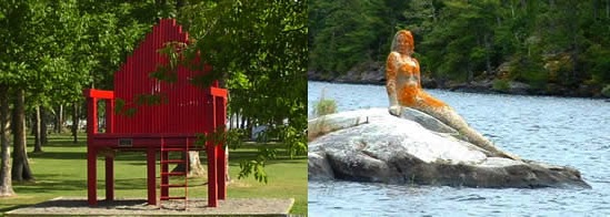 Fort Frances Chair and Mermaid