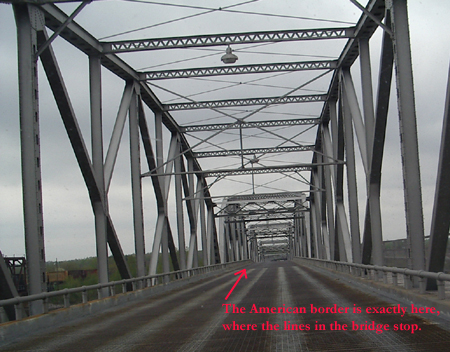 International Bridge in Rainy River