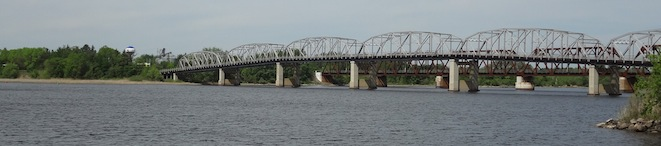 Rainy River International Bridge Higway 11