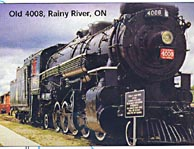Rainy River Locomotive, highway11.ca