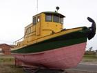 Loggin boat, Longlac, Ontario Highway 11