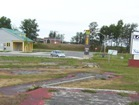 Abandoned mini putt in Longlac, Highway 11