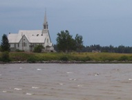 Long Lake church on Highway 11